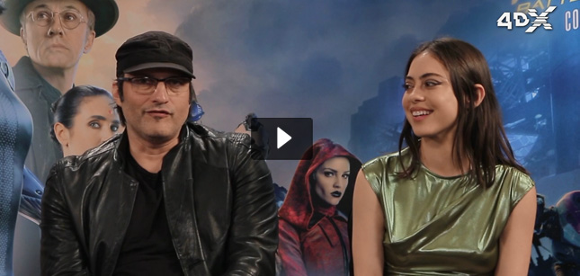 Robert Rodriguez & Rosa Salazar video