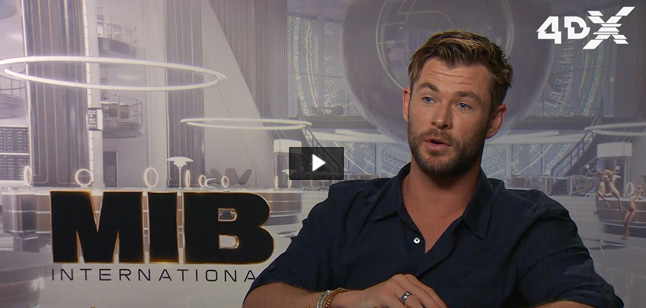 Chris Hemsworth video