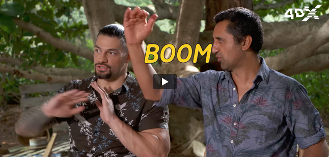 Roman Reigns & Cliff Curtis video