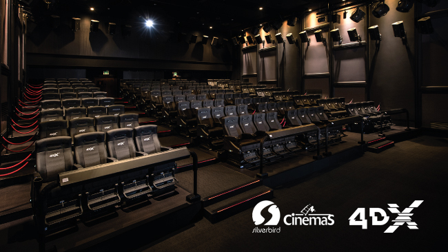 CJ 4DPLEX Announces New Deal with Silverbird Cinemas to Bring First 4DX Theatre to Nigeria