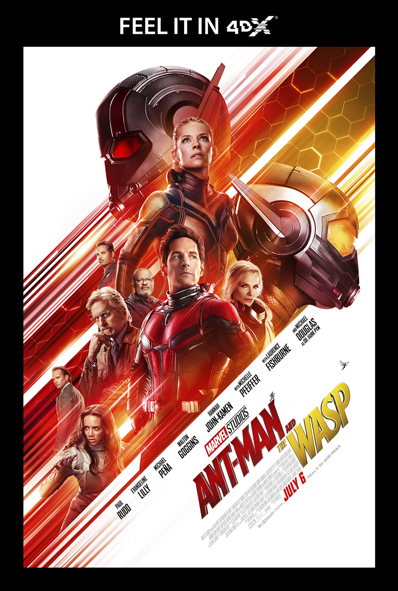 Ant-Man and the Wasp in 4DX is a unique and fun 'Flying' experience