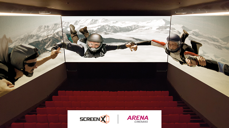 ScreenX Comes To Switzerland For The First Time Opening 3 ScreenX Theatres