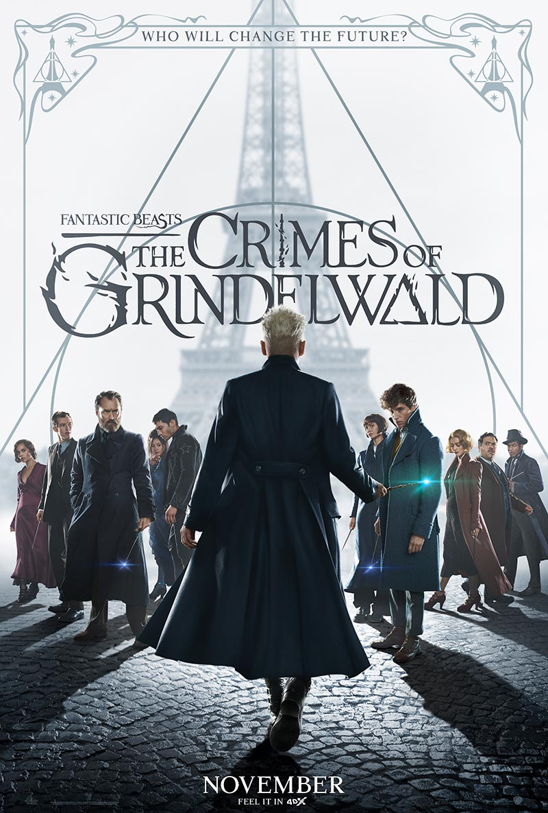'Magical Theme-Park Ride'  Fantastic Beasts: The Crimes of Grindelwald in 4DX