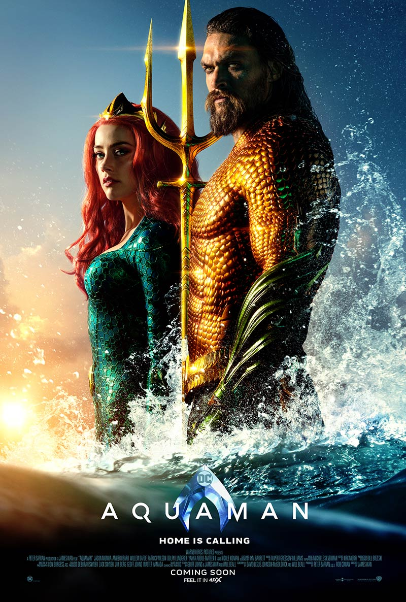 Aquaman 4DX, feel the Ocean Vibe with 'Extreme Water Effect'