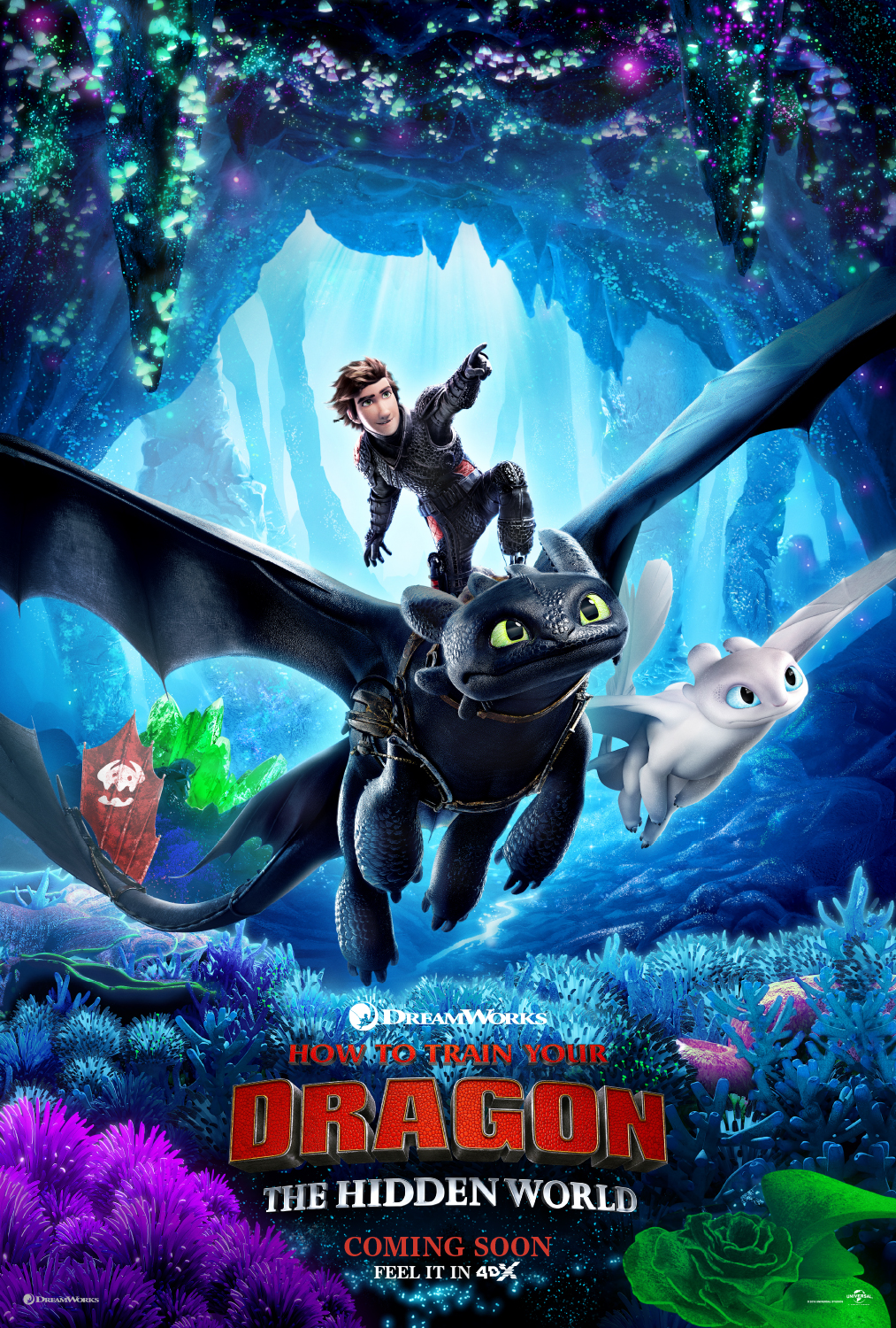 """How to Train Your Dragon 3"" 4DX, a warp gate to Universal Theme Parks for Kids and Family..."