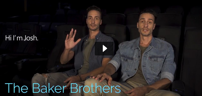 The Baker Brothers (Jonathan & Josh Baker) video