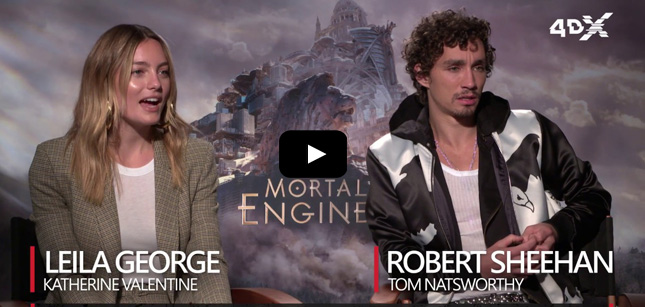 Leila George & Robert Sheehan video