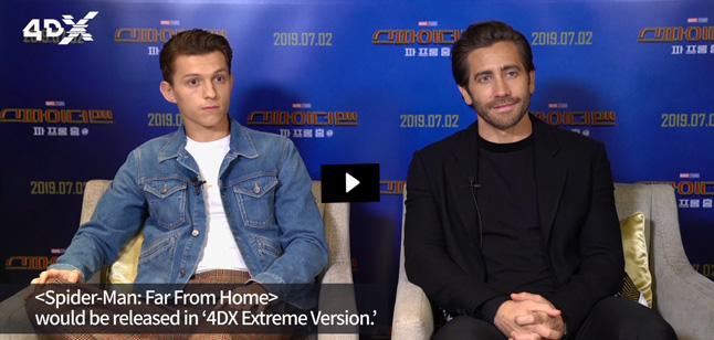 Tom Holland & Jake Gyllenhaal video