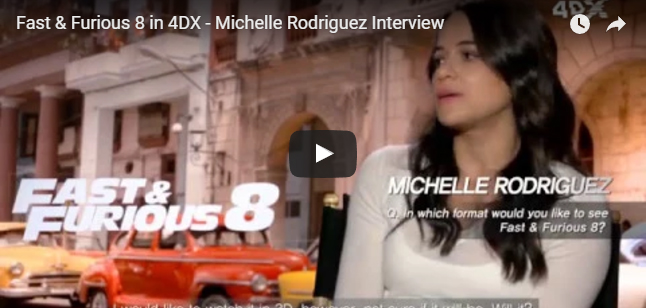 Michelle Rodriguez video
