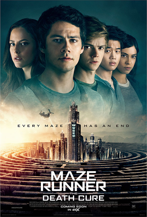<Maze Runner: The Death Cure> Kicks Off the Year Strong as the First Blockbuster Released in 4DX in 2018