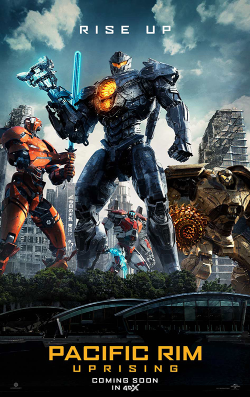 """Pacific Rim: Uprising"" 4DX, Bigger and stronger than the previous one"
