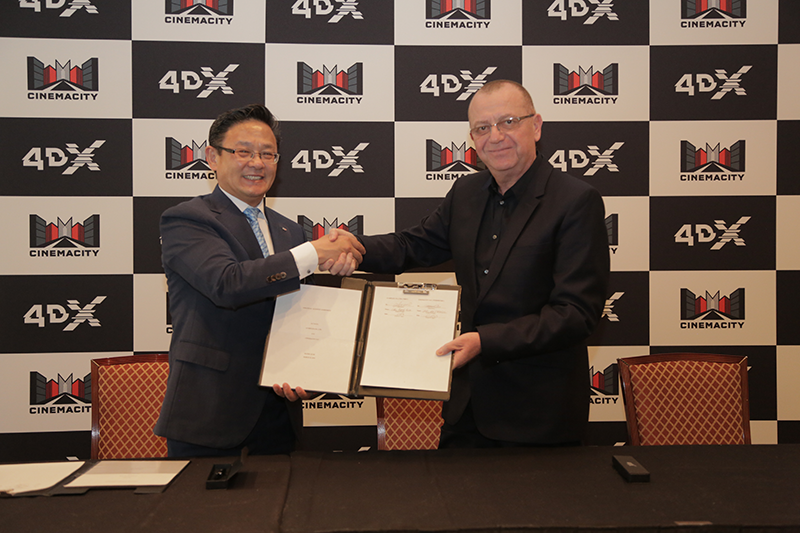 4DX Expands Middle East Reach with Three Cinemacity Locations to Open in Saudi Arabia