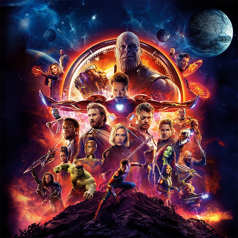 Avengers: Infinity War Sets New Records in 4DX