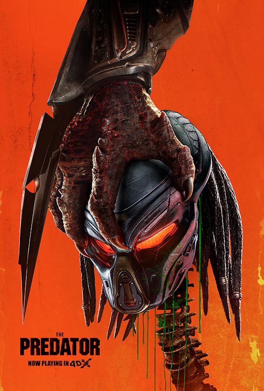 4DX 'The Predator', feel the spectacular battle!