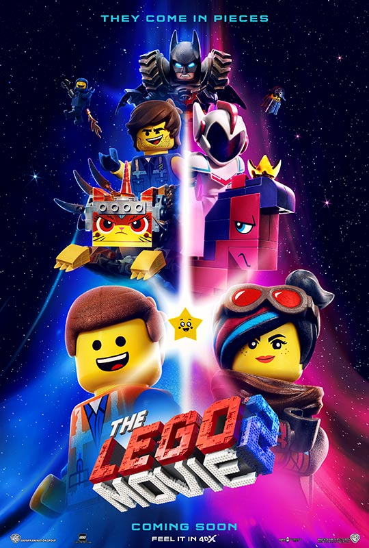 "4DX Producers' Quotes for ""The LEGO Movie 2: The Second Part"""