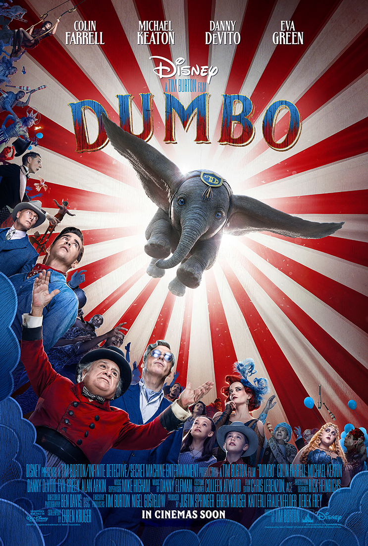 <Dumbo> 4DX brings Flying Elephant Ride to the Theaters, 4DX Flying Adventure once again begin...