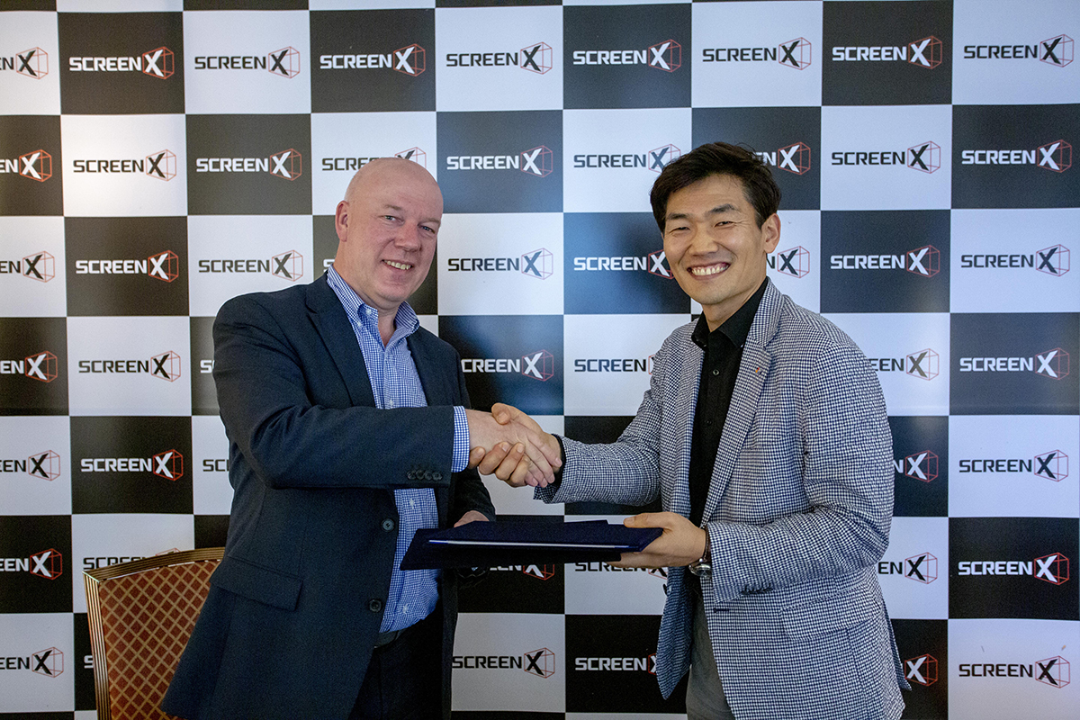 Kinepolis and CJ 4DPLEX Signs International ScreenX Expansion Deal