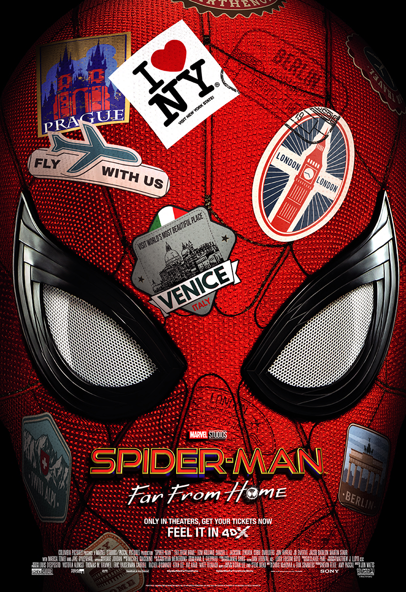 Experience 'Spidey Sky Flying' with Spider-Man: Far From Home 4DX