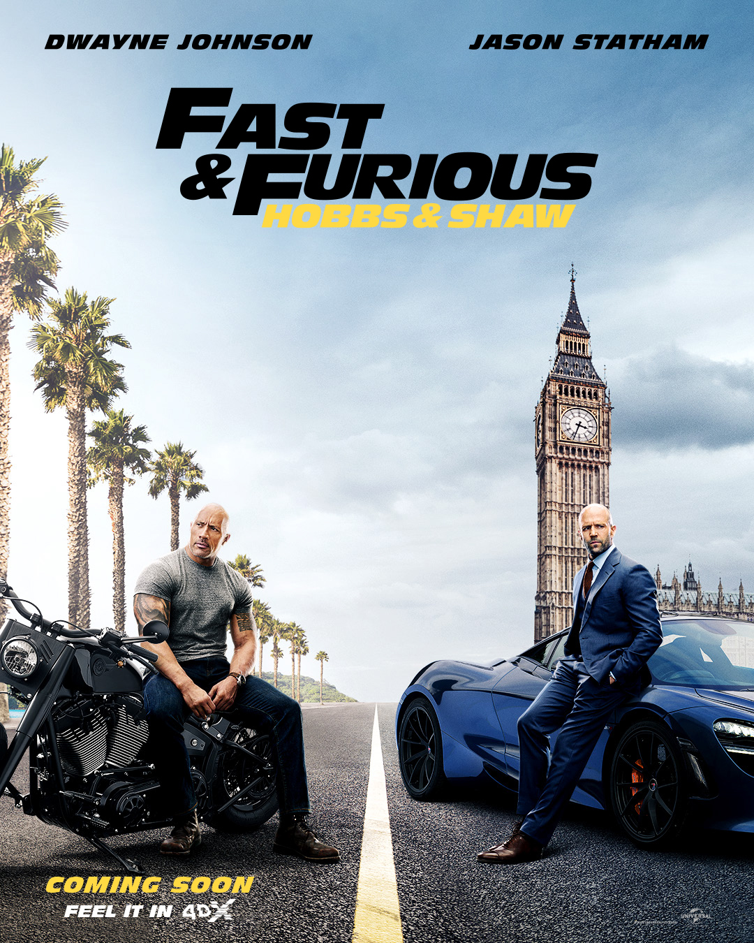 Fast & Furious Presents: Hobbs & Shaw will be the culmination of 4DX with Mach-speed car chases and heart-pounding street racing