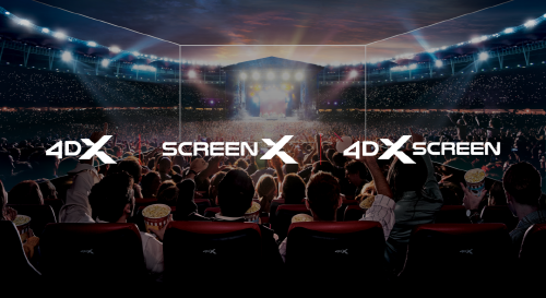 4DX and ScreenX unveil new logo  as part of its new branding