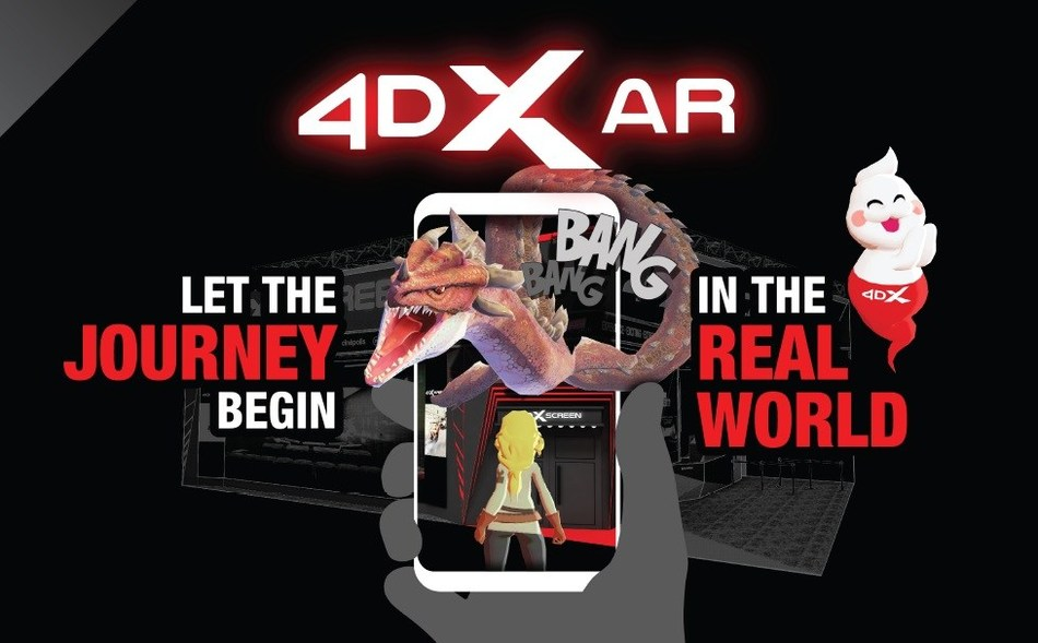 Innovative '4DX AR' Platform to Open New Business Opportunities for the Gaming and Entertainment Ind...